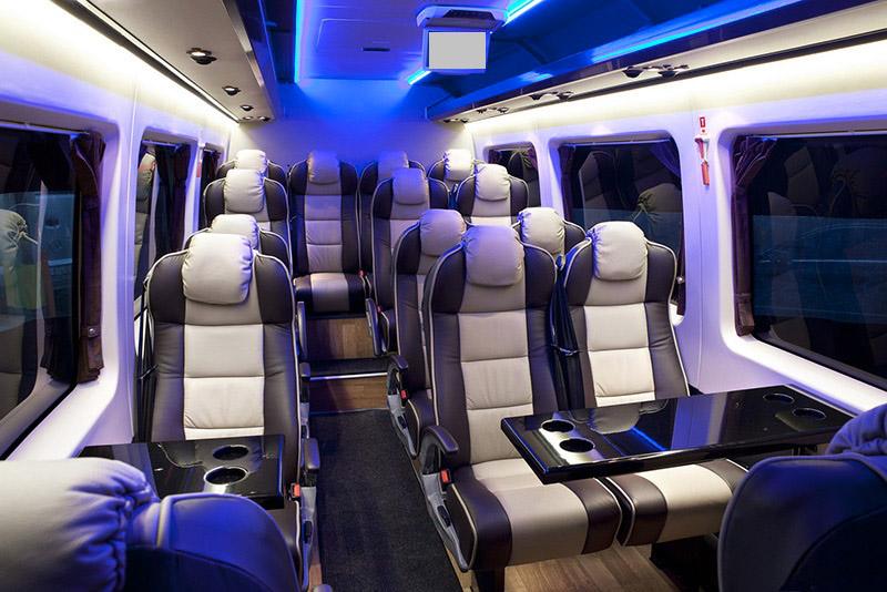 Minibus Interior Design